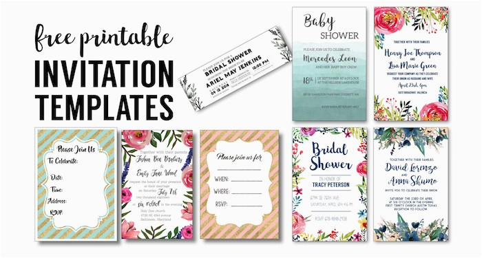 Diy Birthday Invitations Online Free Party Invitation Templates Printables Paper Trail