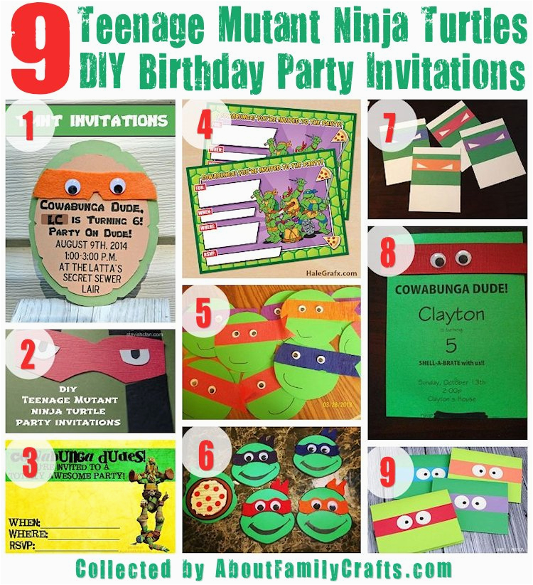 75 diy teenage mutant ninja turtles birthday party ideas