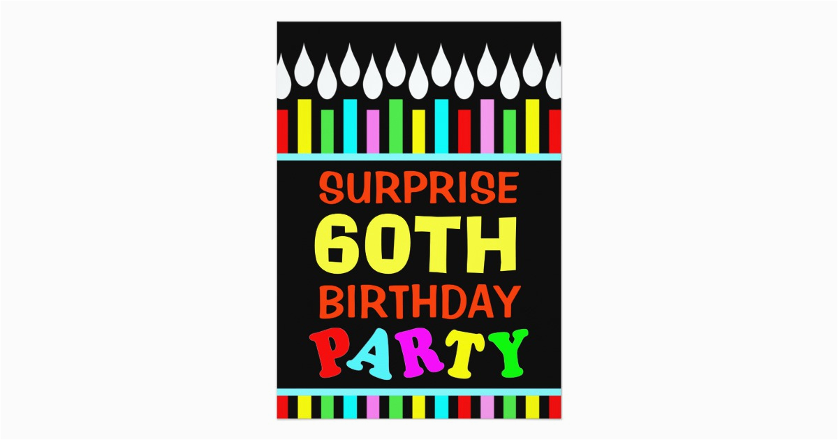 60th birthday party invitations do it yourself 161163165861997074