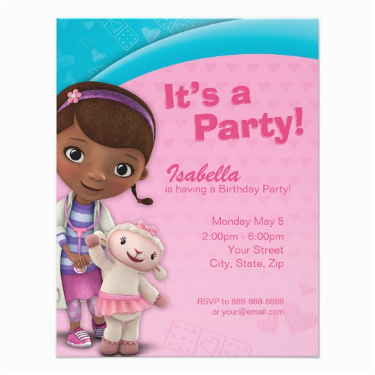 doc mcstuffins birthday invitation 256931059436771015