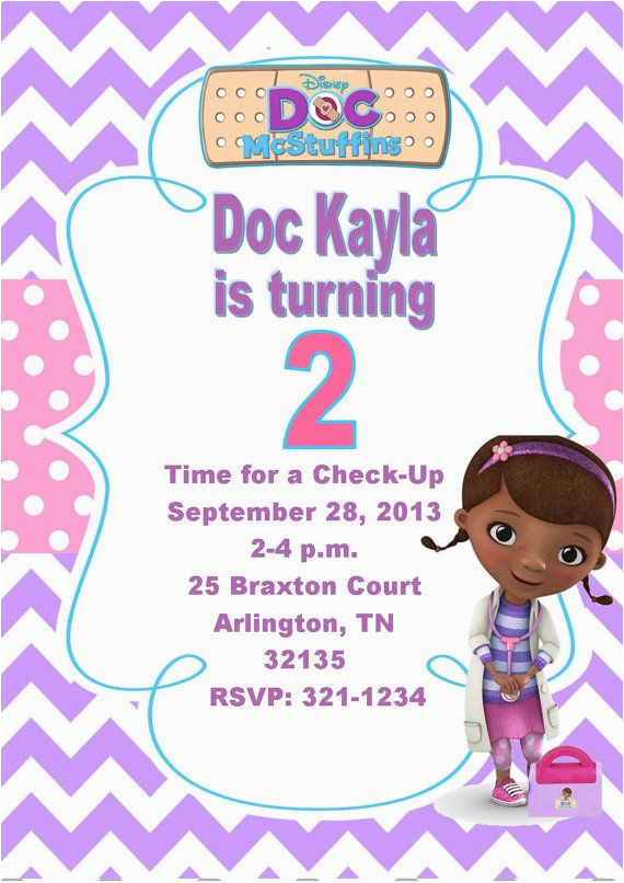 image relating to Doc Mcstuffins Printable Invitations identified as Document Mcstuffins Printable Birthday Invites 17 Most straightforward Shots
