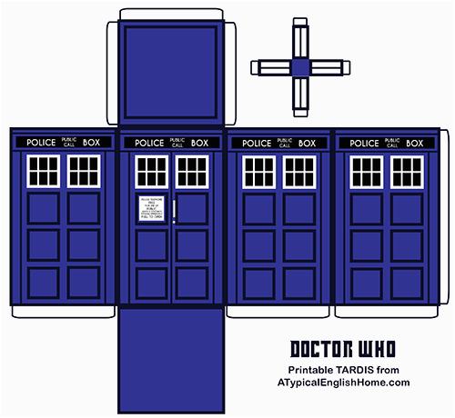 doctorwhoprintabletardis