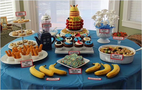 doctor who party food