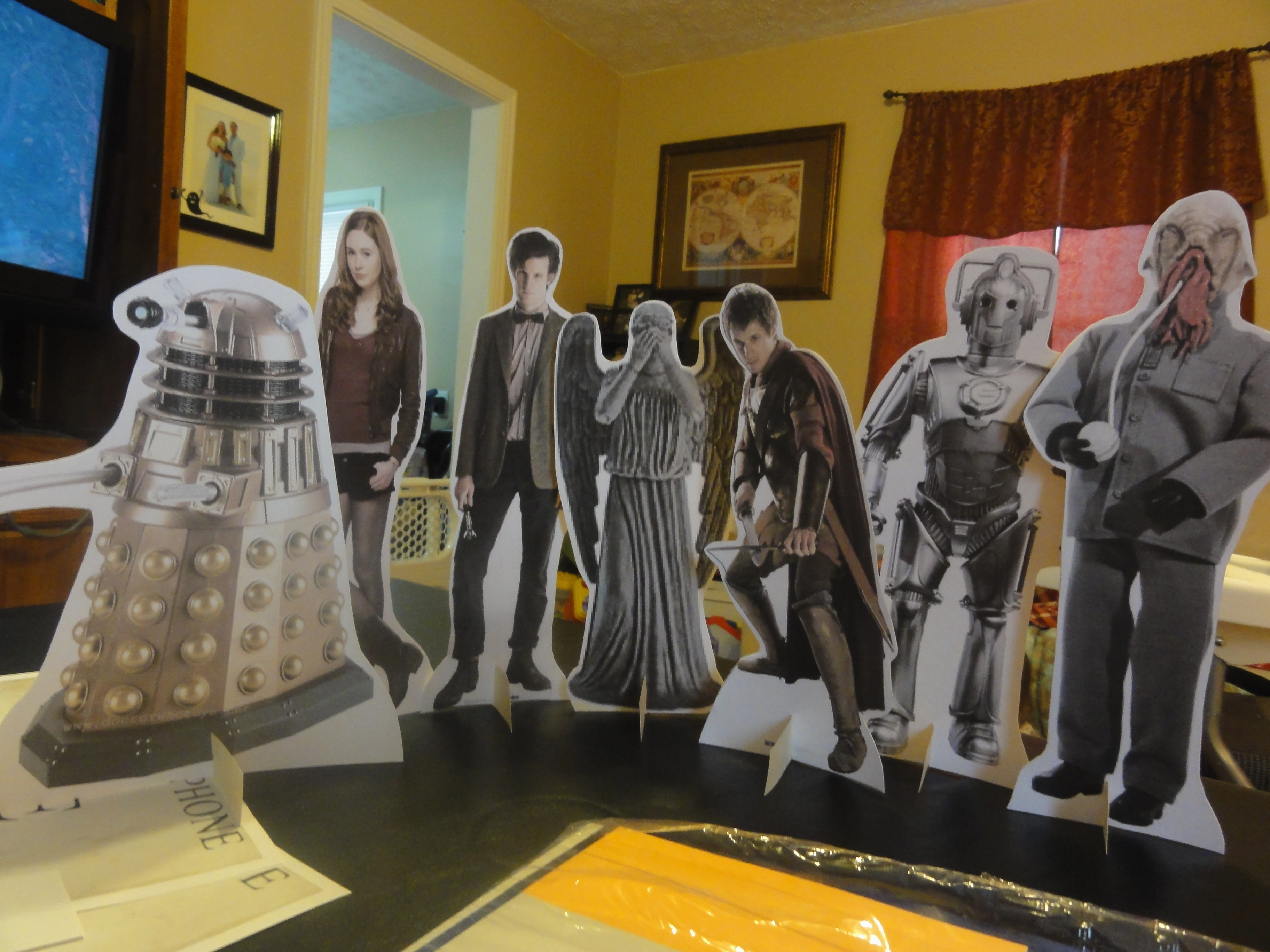 doctor who birthday party part 2