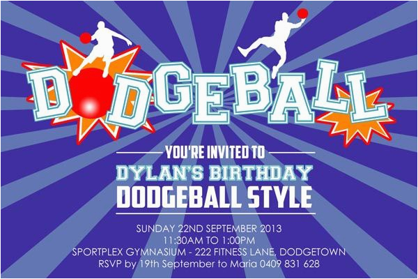 dodgeball posters information and ideas for design