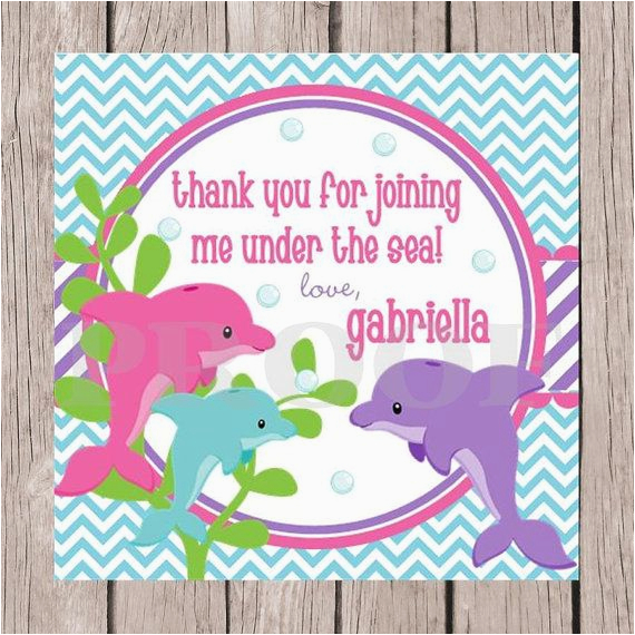 Birthday Invitations Printable Dolphin Parties