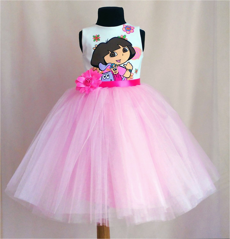 dora birthday dress tutu dora outfit
