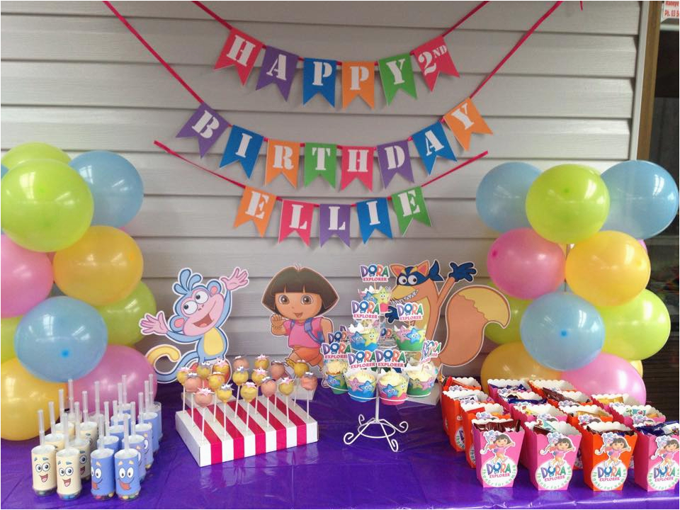 the ultimate dora the explorer party setup free printables video