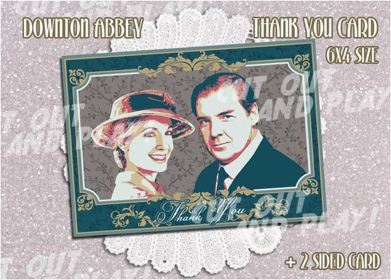 items similar to downton abbey printable invitation cards
