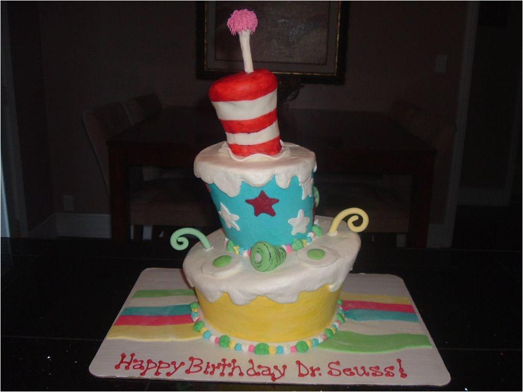 easy dr seuss birthday cakes ideas