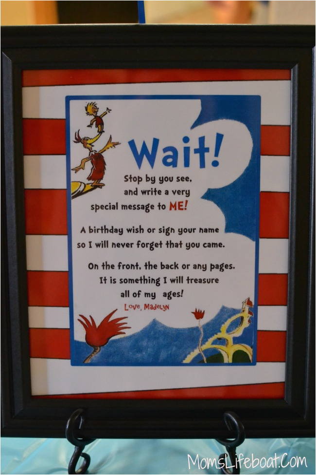 Dr Seuss Birthday Decoration Ideas Dr Seuss Birthday Party Ideas Decorations and Games