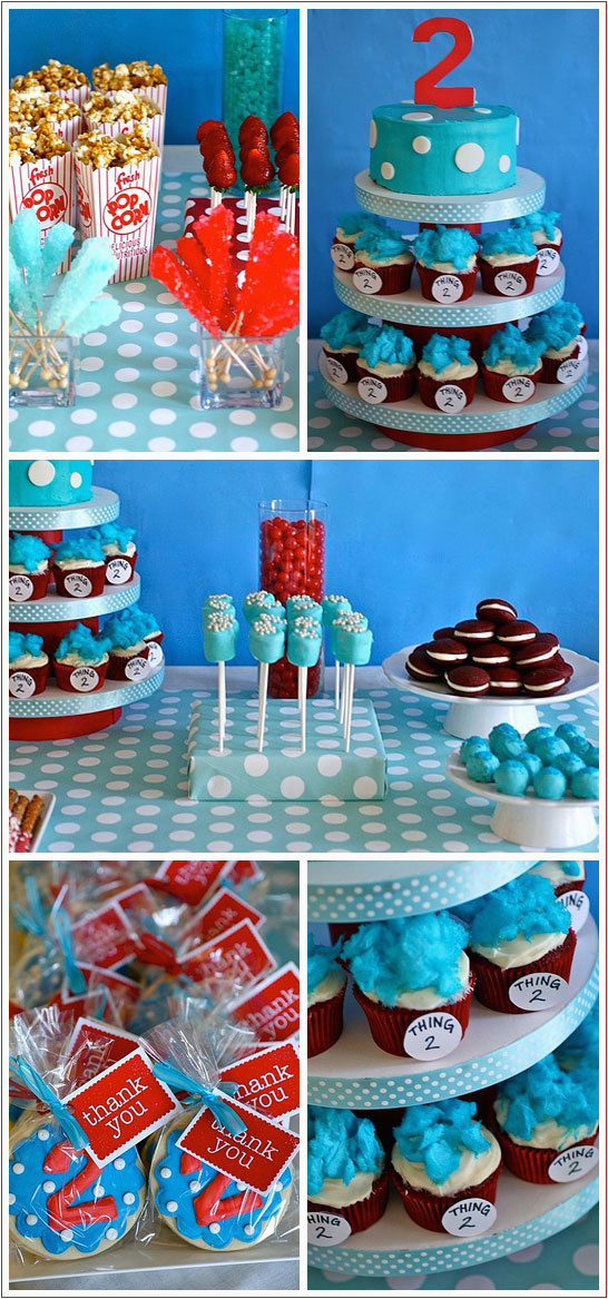 dr seuss bday party ideas