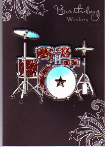 braille birthday wishes 3d raised drum kit 143