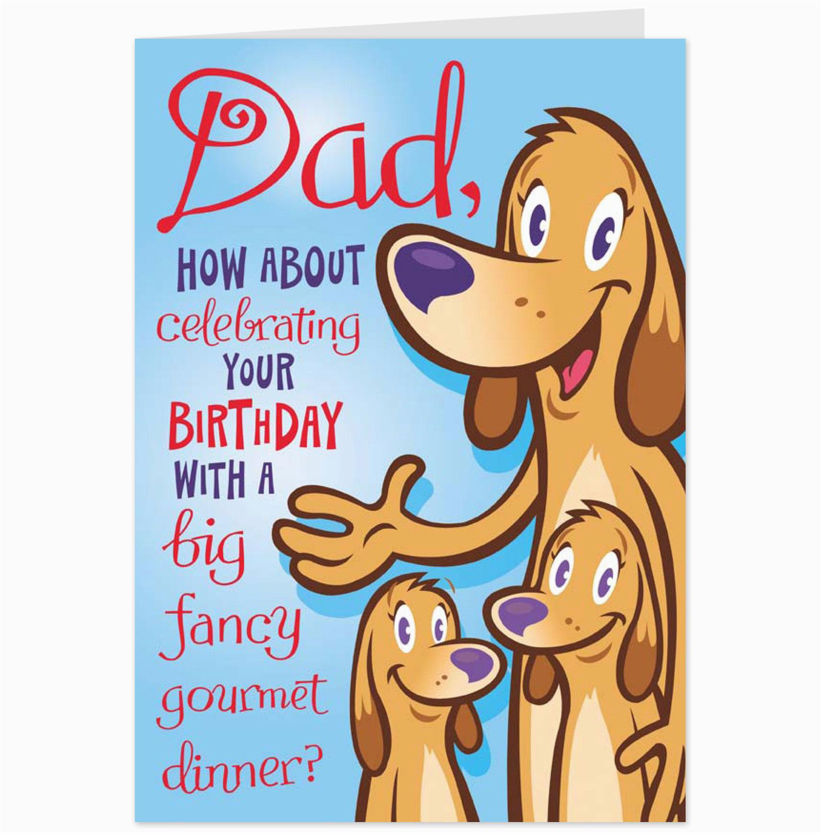 E Birthday Cards For Dad 6 Best Images Of Printable Funny