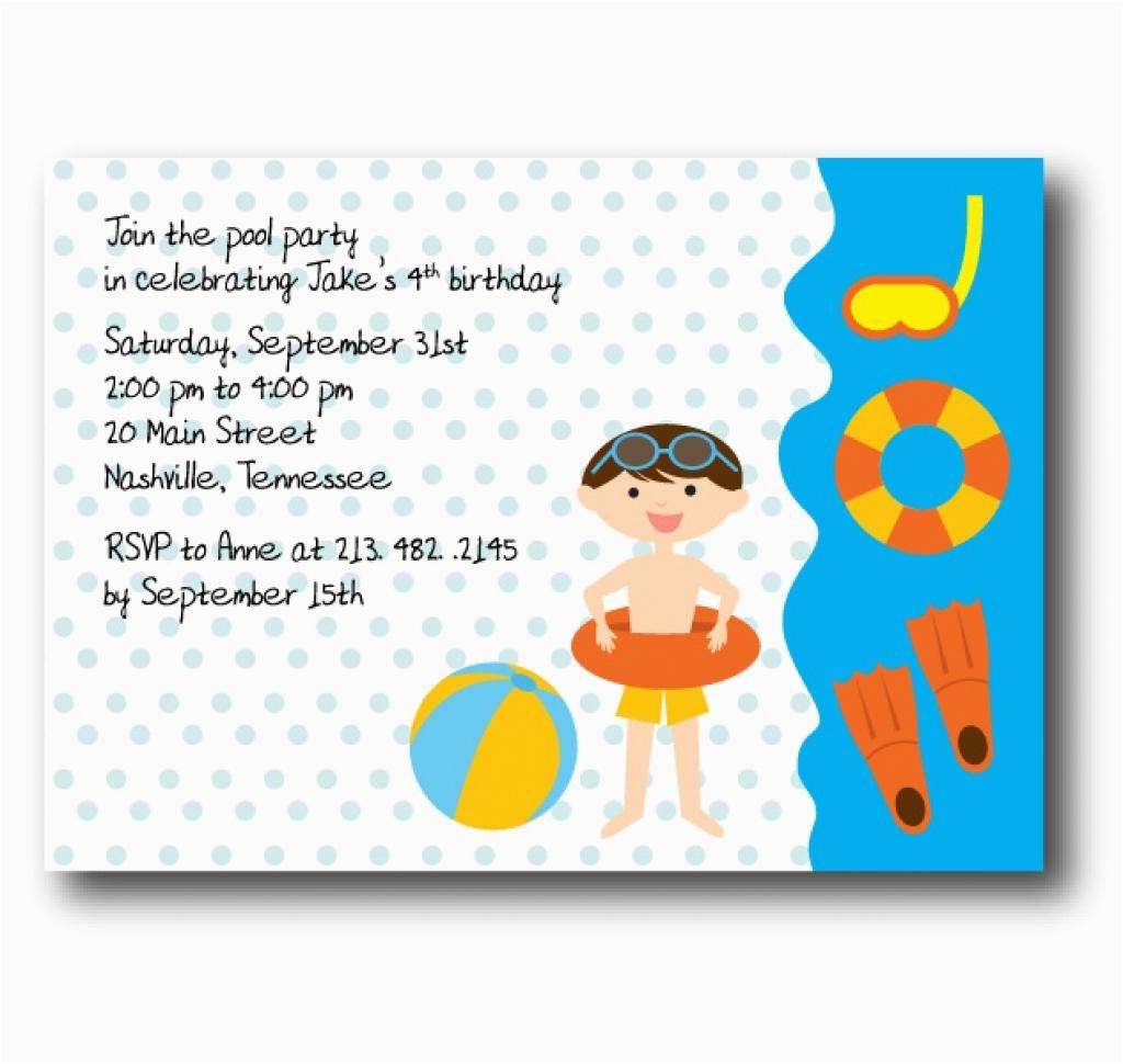 e birthday invitations