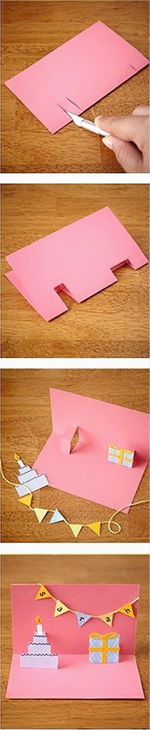 Easy Pop Up Cards for Birthdays Make A Pop Out Birthday Card Fun Crafts Dump A Day