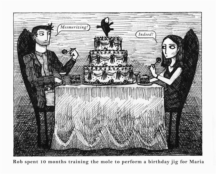 Edward Gorey Birthday Card Edward Gorey Style by Steeveej On Deviantart