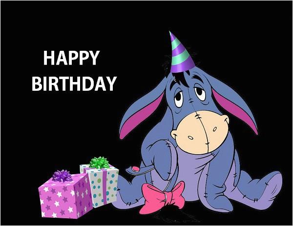 happy birthday wishes with eeyore