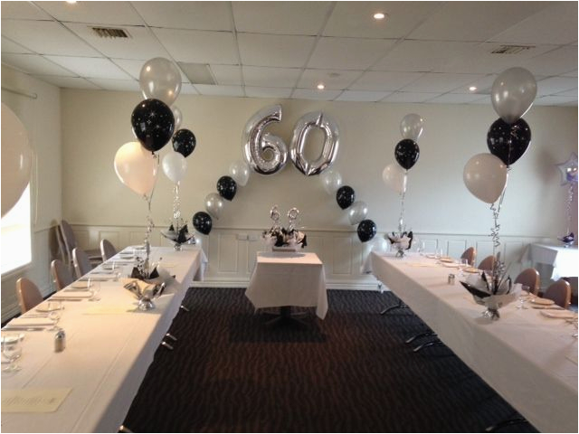 Elegant 60th Birthday Decorations Male Ideas Party