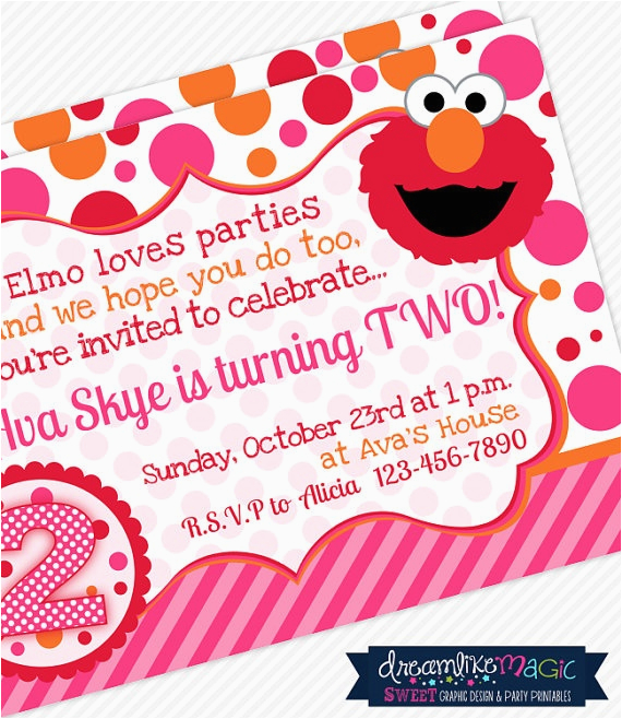 Elmo 2nd Birthday Invitations 1000 Ideas About Party Decorations On Pinterest