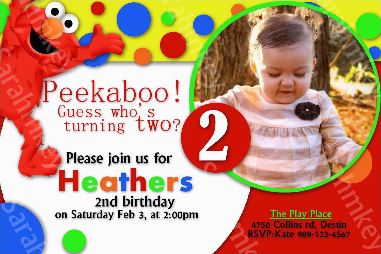 Elmo Birthday Invitations Online Elmo Party Invitations Party Invitations Templates