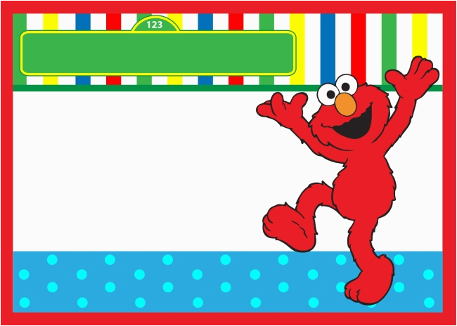 Elmo Birthday Invitations Online Start Your Party With Sesame Street