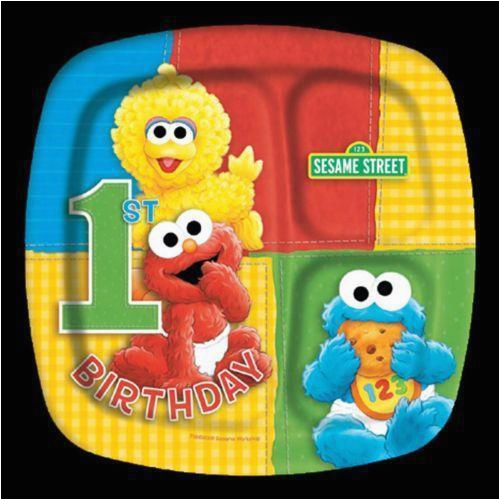 Elmo Decorations For 1st Birthday Party Supplies Ebay
