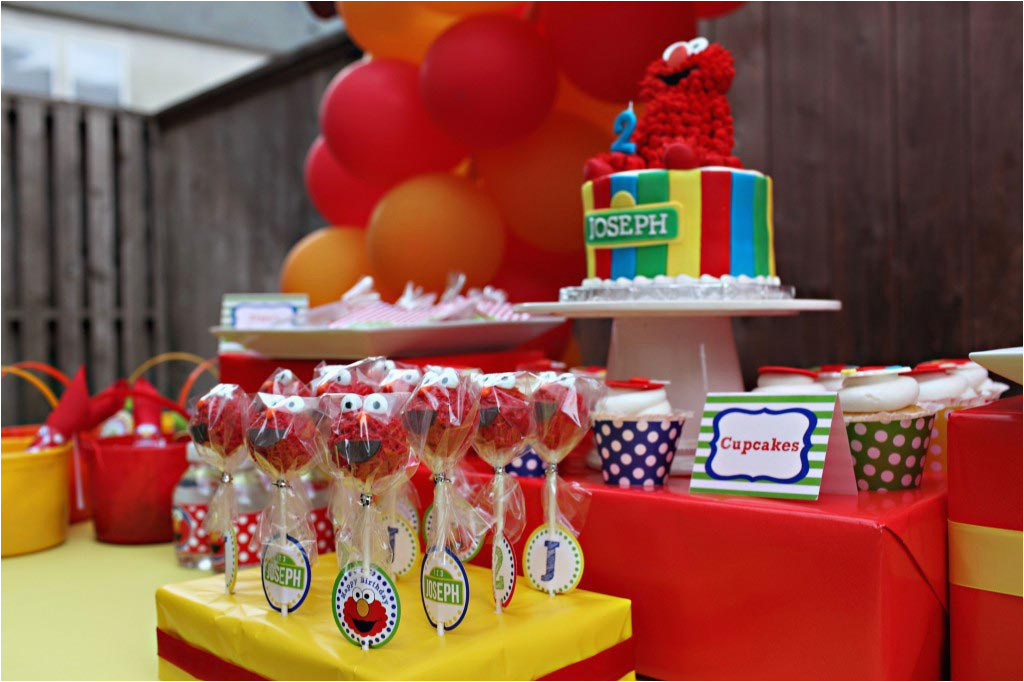 Elmo Decorations For 2nd Birthday Party Ideas Home