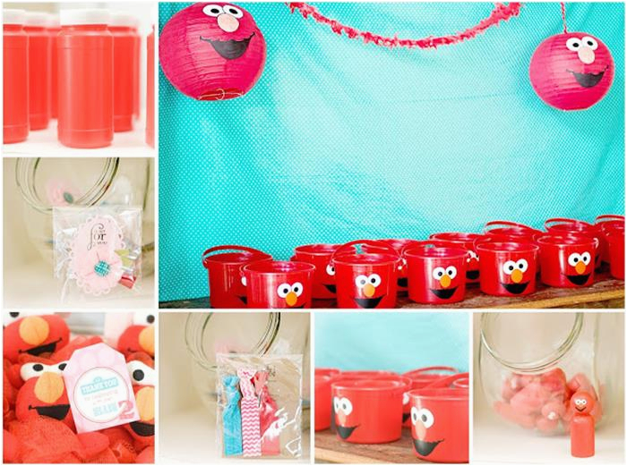Elmo Decorations For 2nd Birthday Party Pink Planning Idea Sesamestreet