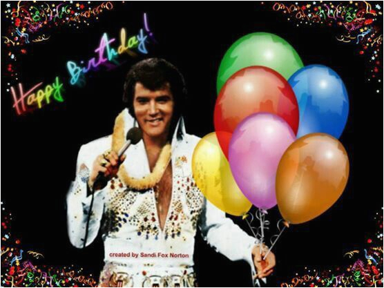elvis presley happy birthday elvis presley pinterest