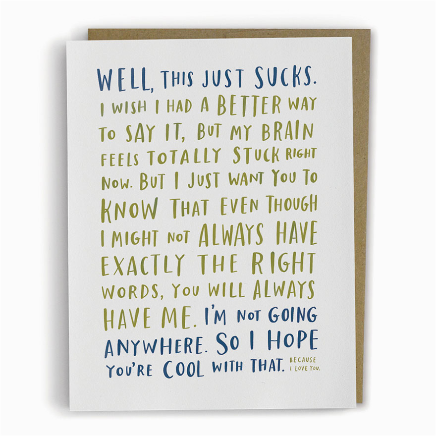 adorably awkward greeting cards by emily mcdowell bored