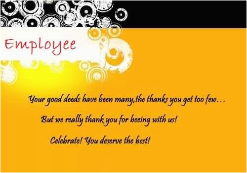 Employee Birthday Card Messages Birthday Wishes for Employee Page 3 Nicewishes Com