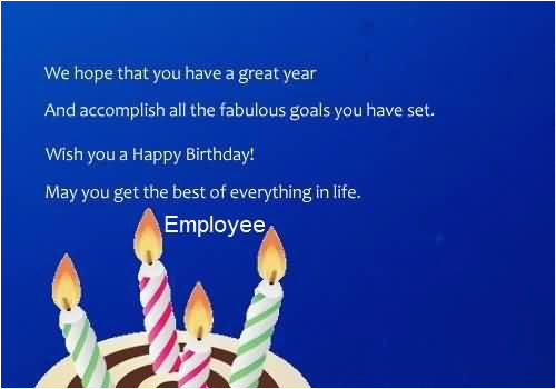 birthday wishes for employee page 4 nicewishes com