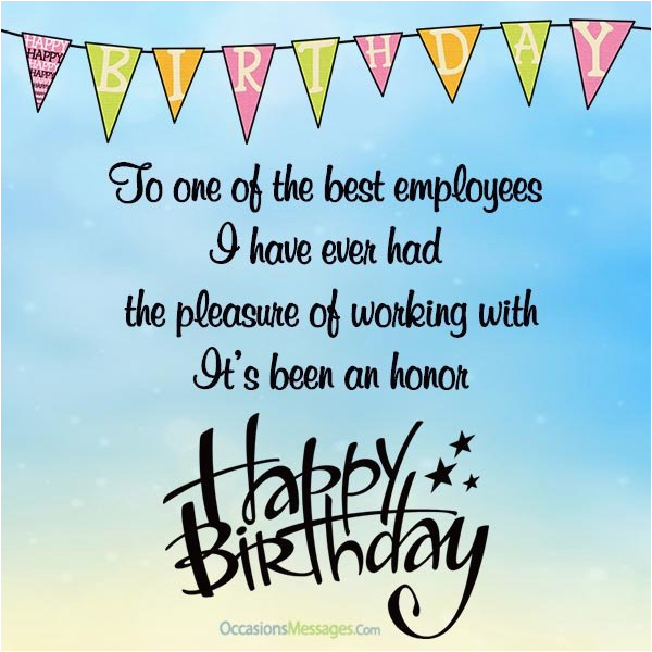 happy birthday wishes for employees occasions messages