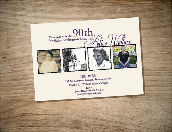 Etsy 90th Birthday Invitations Printable Invitation By Magnoliasouthdesigns On
