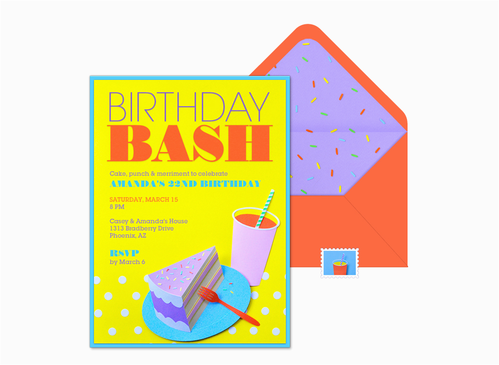 evite birthday bash invitation wwwchloefleury birthday bash invitation