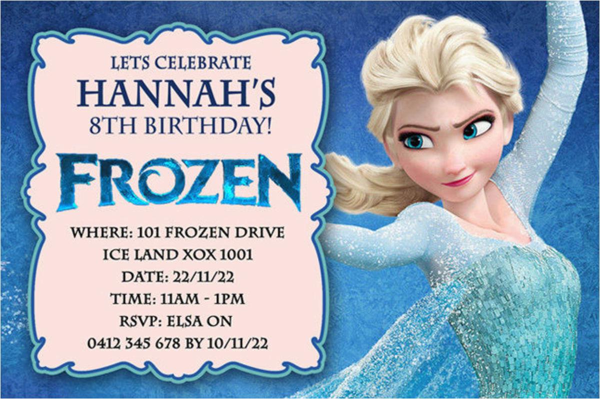 Evite Frozen Birthday Invitations Best Selection Of Frozen