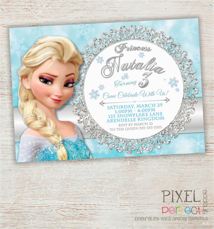 Evite Frozen Birthday Invitations Frozen Birthday Invitation Frozen Birthday Party Frozen