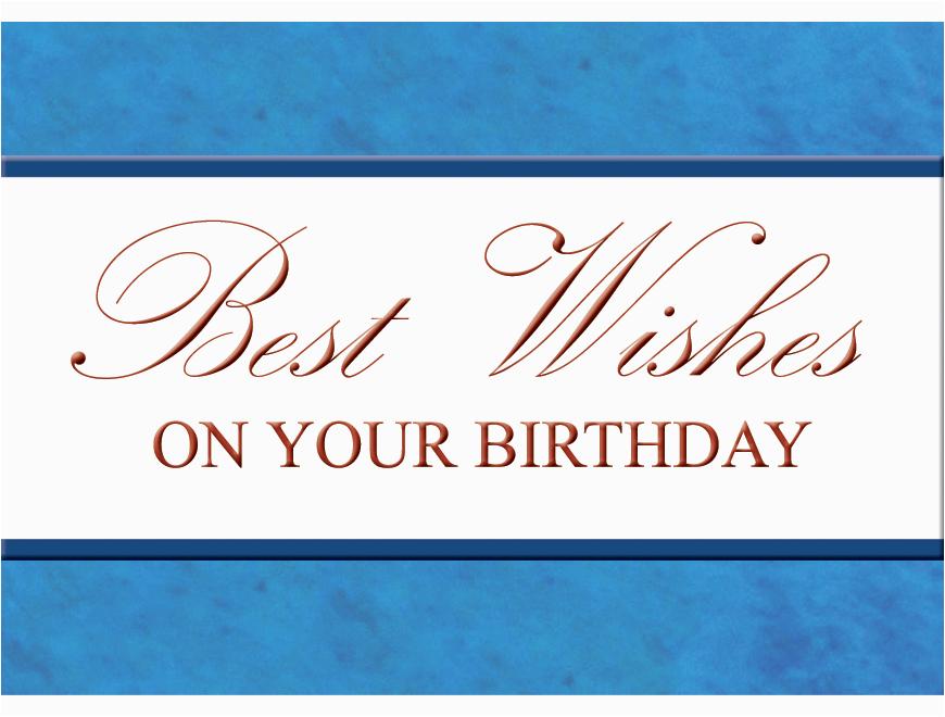 Executive Birthday Cards Happy Birthday Executive Blue