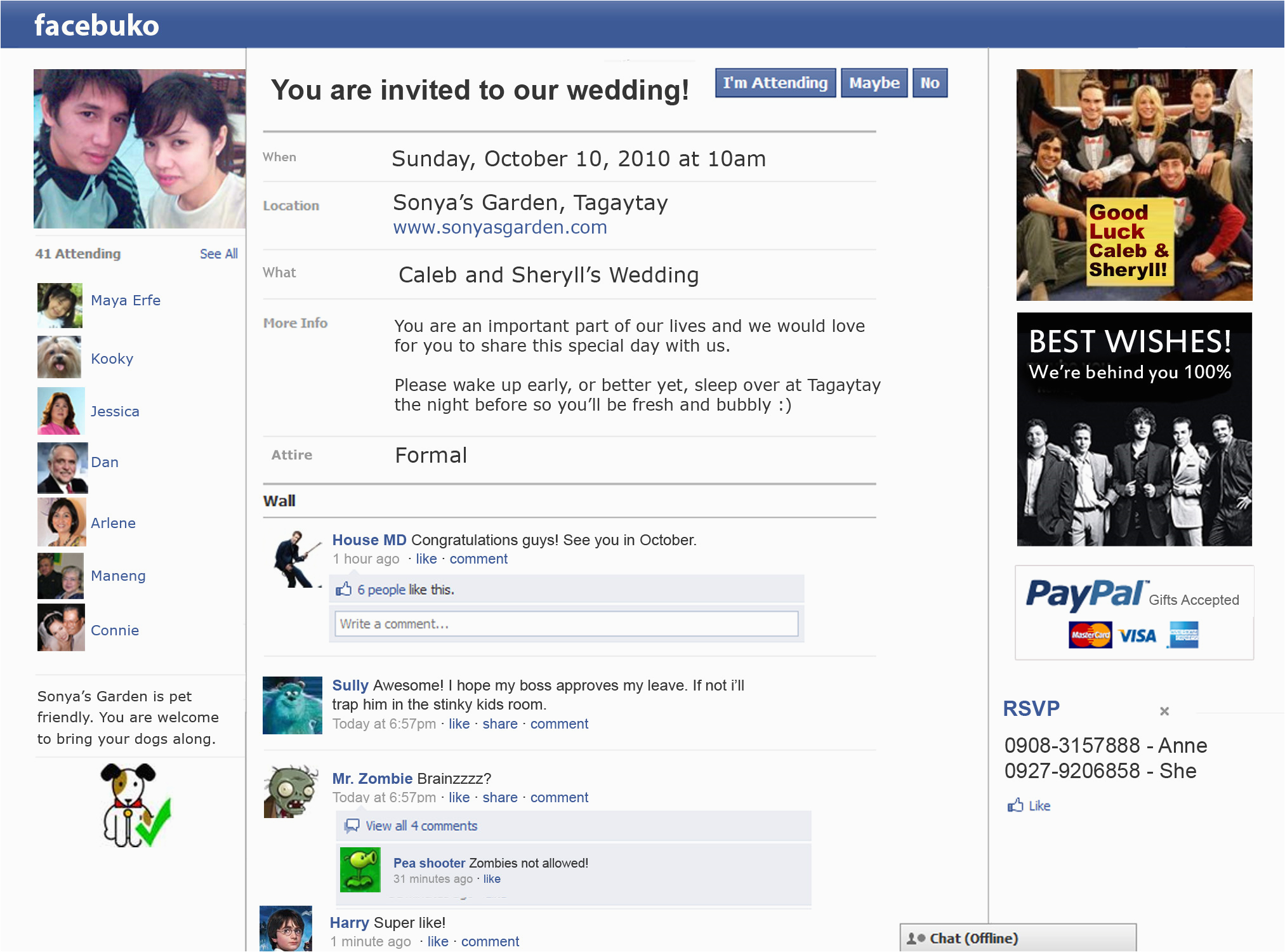 Facebook Birthday Invites Innovative Invitation For Wedding On 10