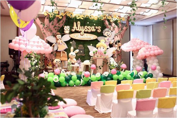 fairy garden 1st birthday party