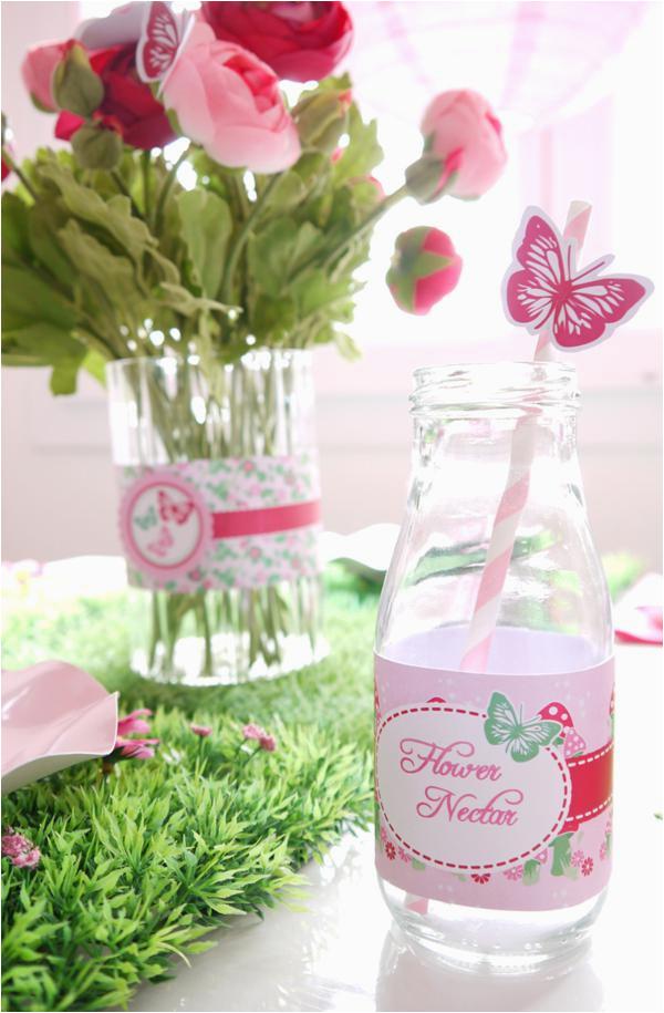Fairy Decorations for Birthday Party Kara 39 S Party Ideas Pixie Fairy Pink Girl Birthday Party
