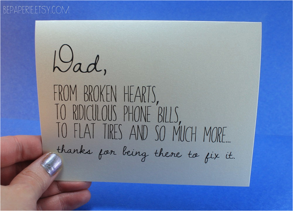 dad card father 39 s day card dad birthday card funny