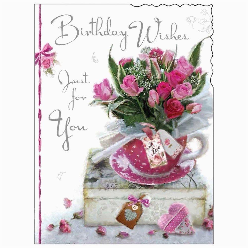 Female Birthday Card Images Birthday Card Female Lady Happy Birthday Roses