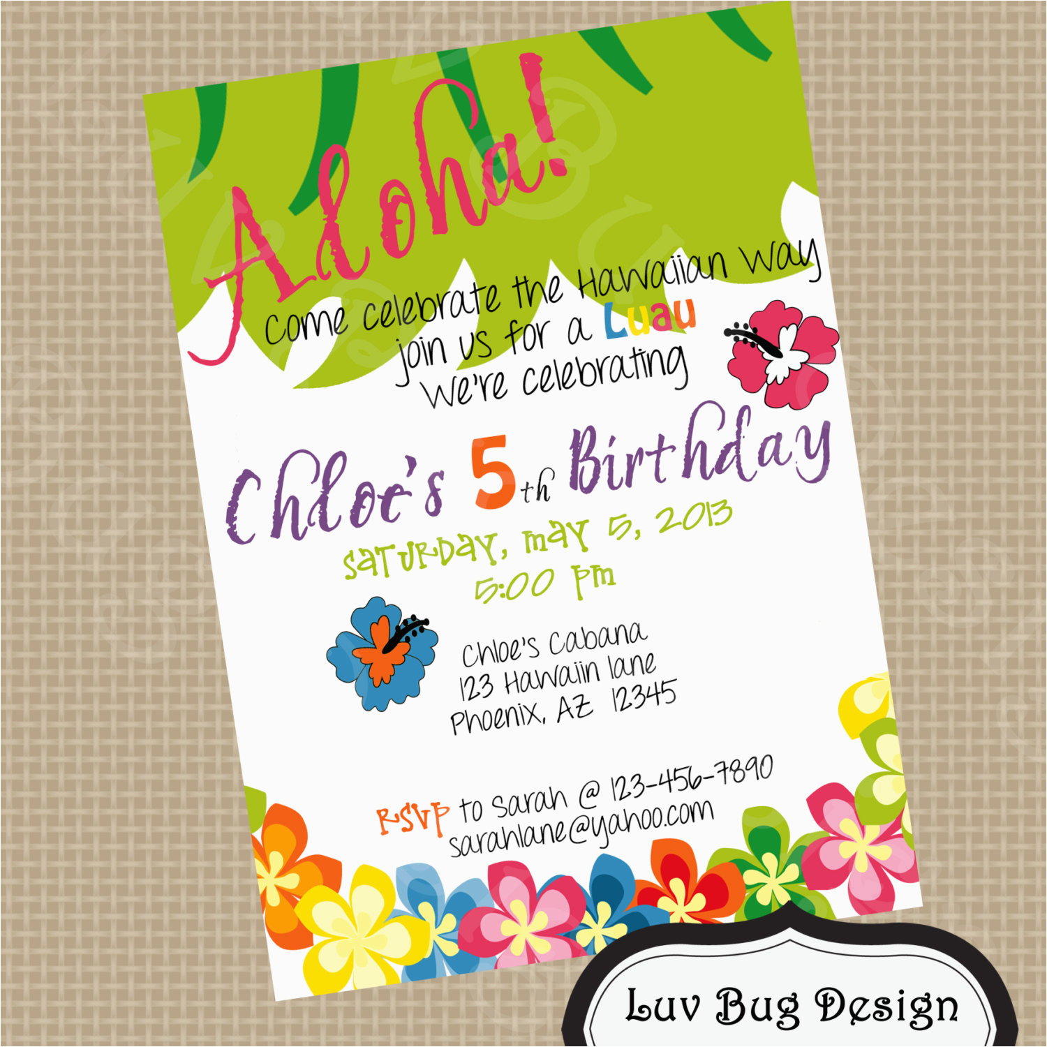 Fifth Birthday Party Invitation Wording Cimvitation Jpg 1500x1500 5th