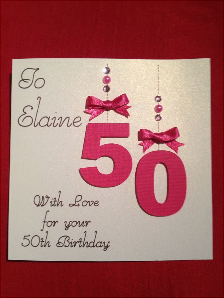 17 best images about 50th birthday cards on pinterest