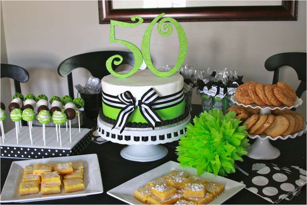 Fifty Birthday Decorations 50th Party Ideas