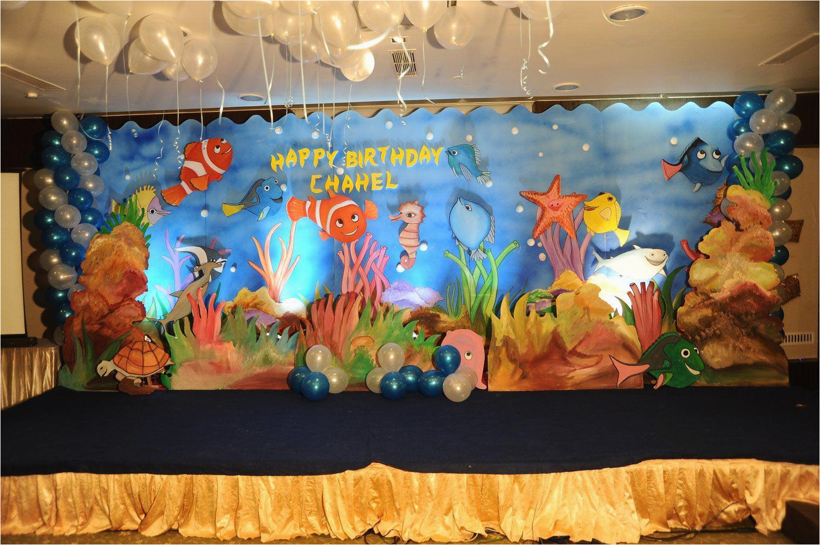 nemo birthday party decorations