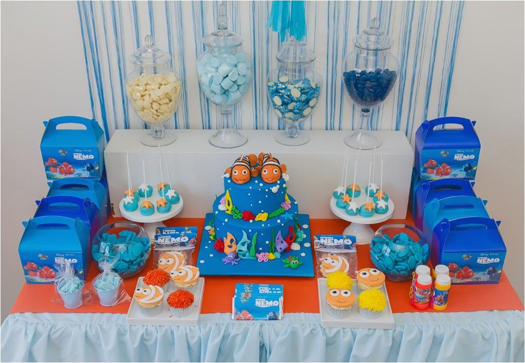 nemo birthday party