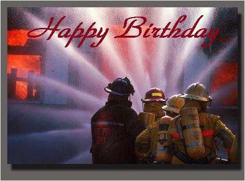 firefighters birthday cards more